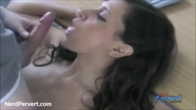 Amateur Chick Amelia Cock Sucking Training