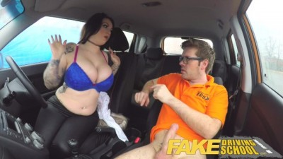 Fake Driving School Fucked with his teacher to pass the lesson