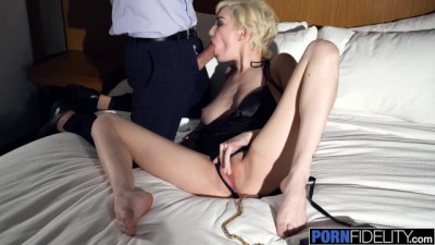 Pornfidelity - Skye Blue Changes Plans To Stay Inside and Hardcore