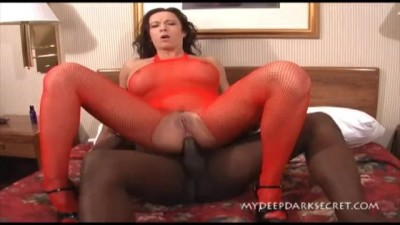 My Deep Dark Secret - Hotwife Squirts everywhere when fucking Black Dick