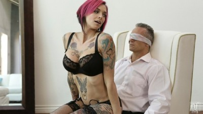 NF Busty - Horny Whore Big Tit Anna Bell Peaks Tied Up And Fucked Client
