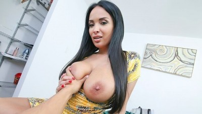 Perv Mom - Big Titty MILF Shows Off For Big Dick Stepson