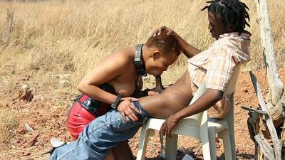 Safari Sex - African Fetish Fuck Lesson At The Savannah