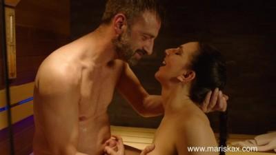 Mariska X - Lovely Liesje Gets Big Ass Fucked In The Sauna