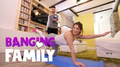 Banging Family - Seducing My Naughty Step-Brother at Yoga Class