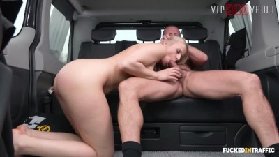 Sexy Model Hot Czech Teen Fucked Like A Slut In a Taxi