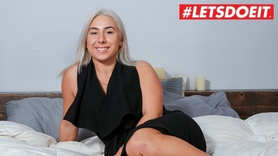 LETSDOEIT - European Model Teen Gets Banged in Her First and Only Porn in Casting