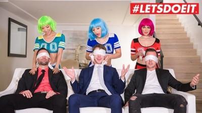 LETSDOEIT - HighSchool BFFs Sex Party ORGY