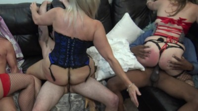 Atlanta Swinger Couples Play a Game of Musical Cocks Mature