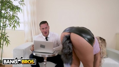 Sexy Horny MILF Secretary Assh Lee Gets her Asshole Stretched by her Boss