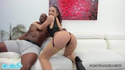 Abella Danger and Prince Yashua Interracial Blowjob and Hardcore SEX