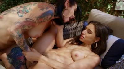 Joanna Angel and Abella Danger Intense Lesbian Sex