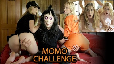 My Family Pies - Momo Scares then Fucks Step-Sis and Friend