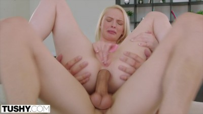 TUSHY - Blonde Babe Loves Hardcore ANAL