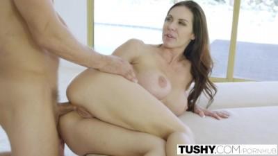 TUSHY - Brunette MILF Kendra Lust first Anal!