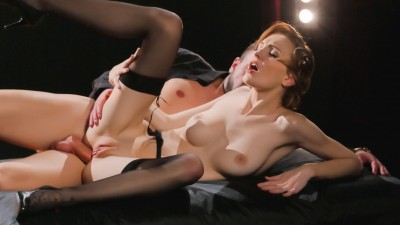Hot Czech babe Belle Claire enjoys smoking and deep anal in fantasy fuck