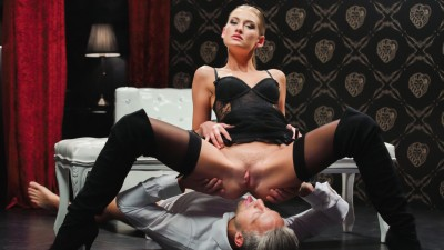 Fetish sex with a sensual blonde - X Chimera