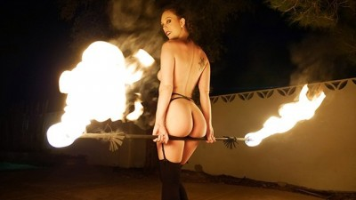 TeamSkeet - I'm burning.. Give me cock!