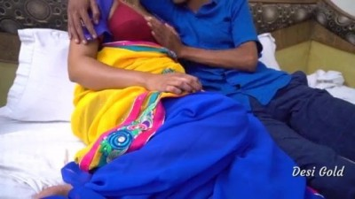 Real Hottie Indian Bhabhi Sex With Young Lover