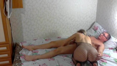 My busty russian stepsister loves my cock!