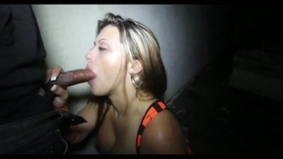Latin Whore MILF Sucking Black Cock