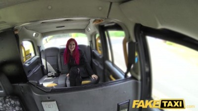 Fake Taxi Fetish Horny Queen in Black Leather Gets Deep Anal