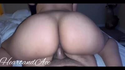 Thick Latina Chick Twerks on Dick! -HeartandAce