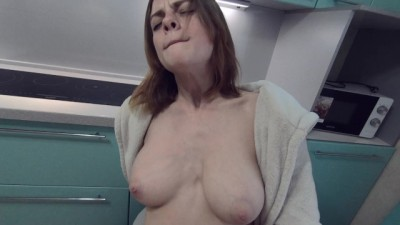 HORNY COUPLE FUCK WHILE BF'S PARENTS ARE HOME