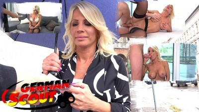 GERMAN SCOUT - GOLD DIGGER MILF TIFFANY LOVES ROUGH