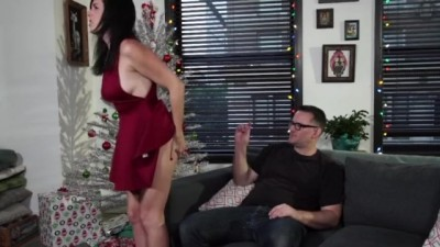 Naughty step son controls the mind of her sexy stepmother