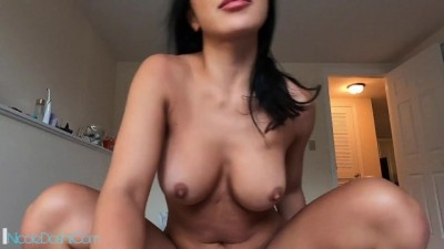 POV Gorgeous Asian Housewife Pussy Fucked
