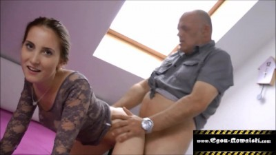 Old man fucks Horny Sexy woman
