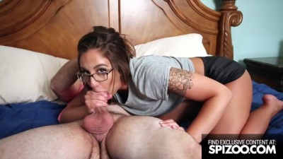 Big Booty Layla London Sharing a Big Cock with Demi Lowe - Spizoo