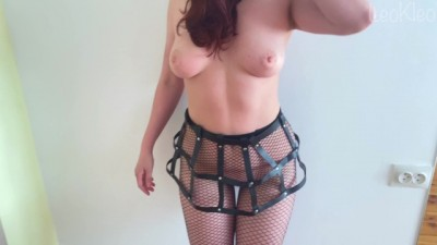 Amateur BDSM Fetish: Spanking, Blowjob and Rough Pussy Fucking