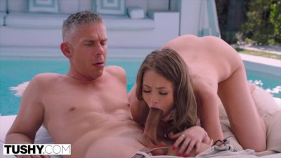 TUSHY - Slutty assistant chick is Fucking with his Boss