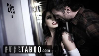 PURE TABOO Slutty Horny Teen Double Creampied in Motel