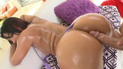 BANGBROS - Yummy Brunette PAWG, Lallasa, taking Huge Cock