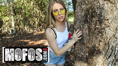 MOFOS - Teen Beauty Anya Olson Gets Fucked in Public for Extra Money