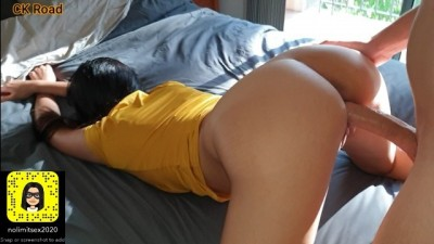 Amateur Snapchat Sex Video - Hottie Curvy Student wants it all in Doggystyle