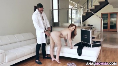 Big Booty Slut Summer Hart Gets Complimentary Breast and Rectal Exam