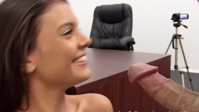 Teen Hot Petite Insemination on Casting Couch