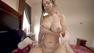 My Busty French Stepmom wants to be Bed Friends ImMeganLive