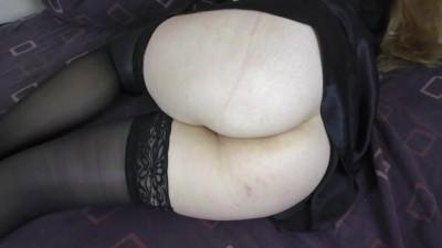 Sleepy StepSis Secret Fucks her - Amateur Big Ass Teen POV
