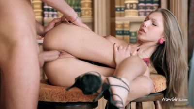 Beauty Russian Teen for Passionate Anal Fucking