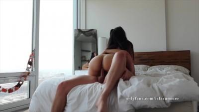 Big Tit Asian Cowgirl! & Creampie!