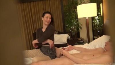 Japanese Beauty MILF Massage Therapist Seduction Client Subtitled | Hidden Cam