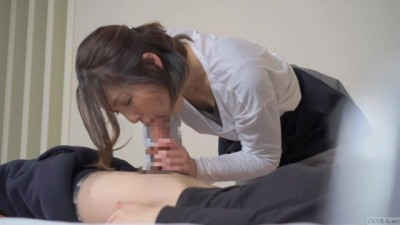 Zenra - Japanese Sexy Teen Sensual Massage Leads to Blowjob in HD JAV
