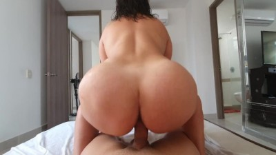 Busty Big Booty MILF Fucks before going to her Office