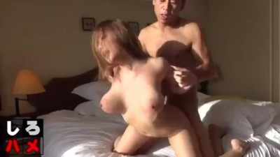 Sensual Fuck and Creampie for a Japanese Big Titted Girl