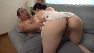 Slutty Asian chick is having Forbidden Love with her father-in-law